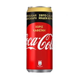Coca Cola Στέβια χωρίς καφεΐνη